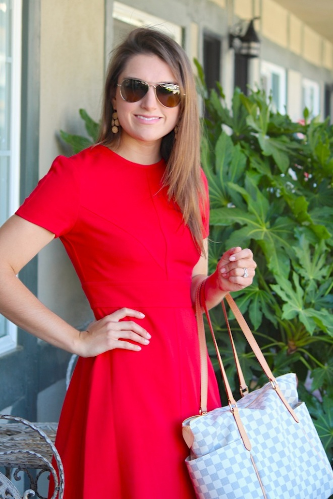 Red Dress, Nordstrom