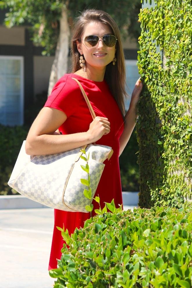 Red Dress, Nordstrom